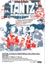 Tantz in Concert at Hoton Village Hall